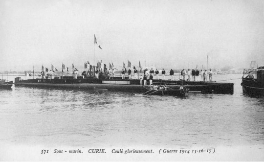 Sous-Marin Curie